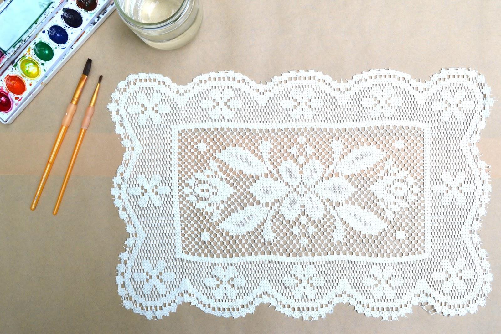 Attic Lace Watercolor Lace