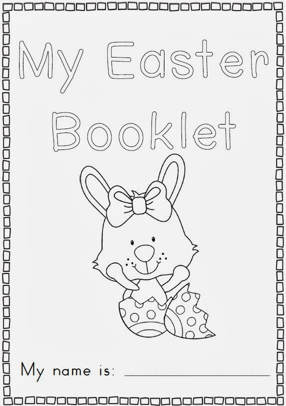 Easter ideas including Easter resource bundle for K-1