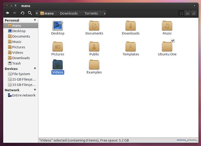 Nautilus-Elementary in Ubuntu 11.04
