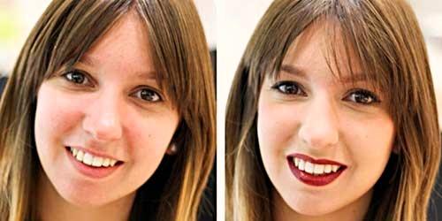 maquillaje antes despues carmen petite etoile