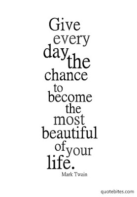 Give every day the chance to become the most beautiful of your life. - Mark Twain | Candy Hearts and Paper Flowers