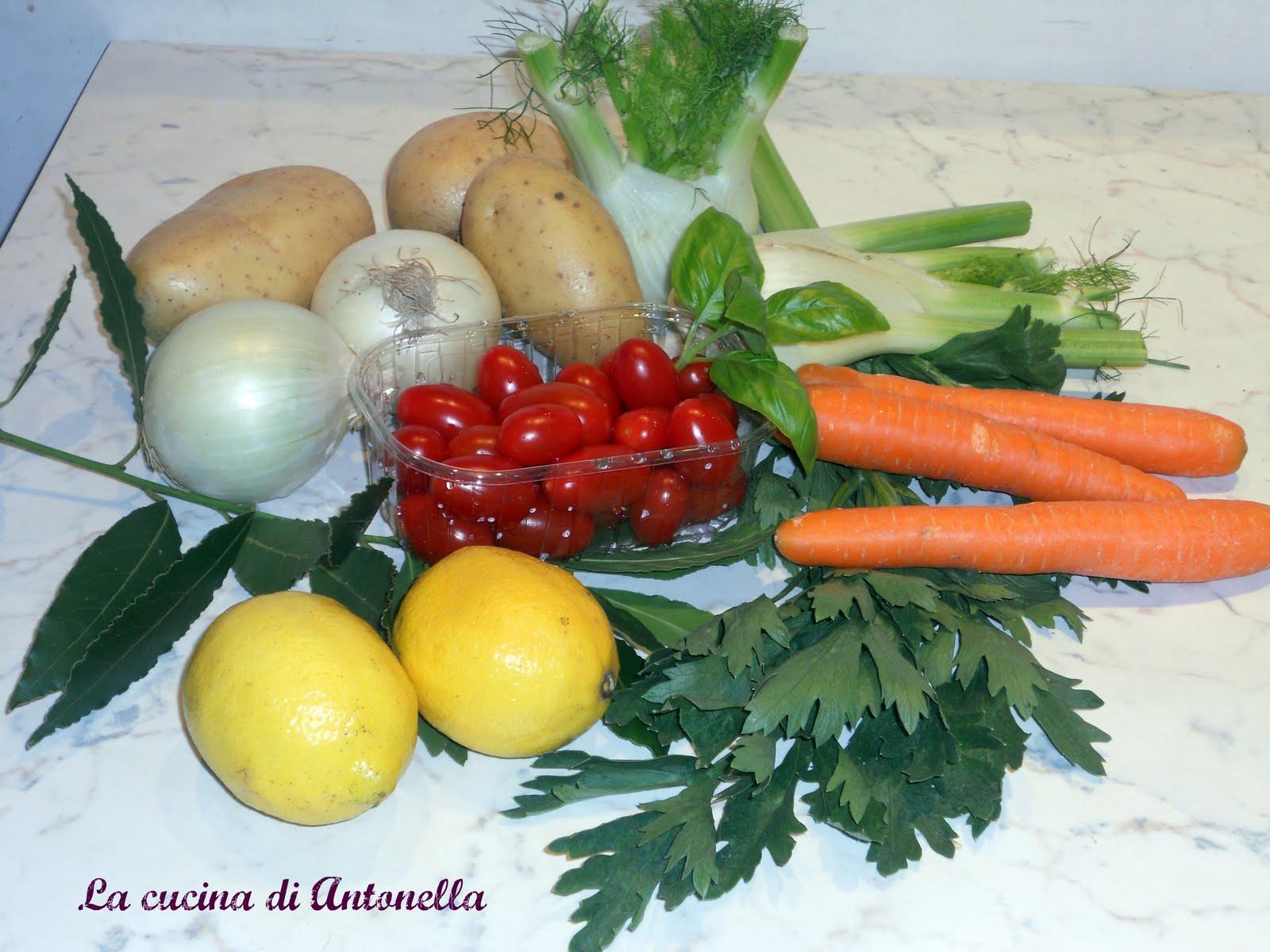 La cucina di antonella insalata catalana dello chef fabiano - La cucina di antonella ...