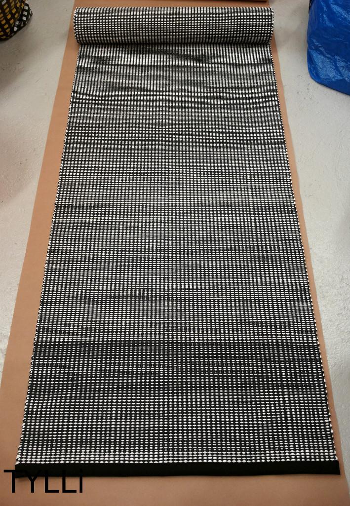 TYLLi Musta valkoinen Lokki matto