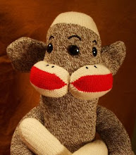 Freaky Footsies Side Show Sock Monkeys