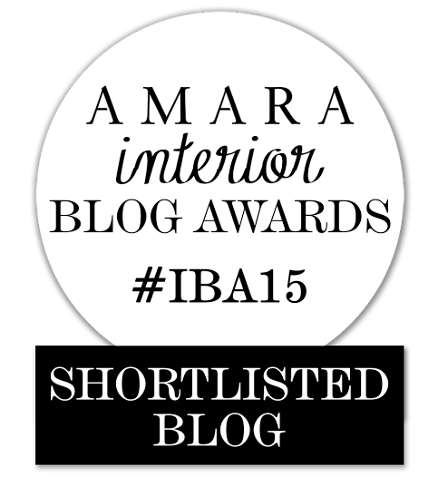 AMARA INTERIOR BLOG AWARDS : SHORTLISTED BLOG