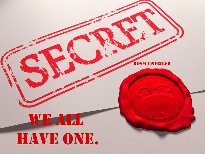We all keep secrets