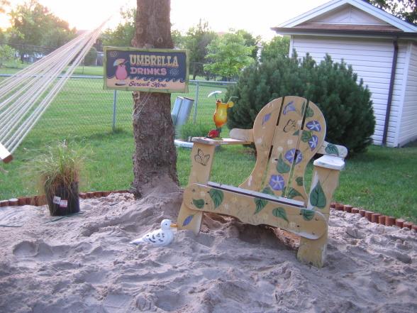 general splendour backyard beach how to