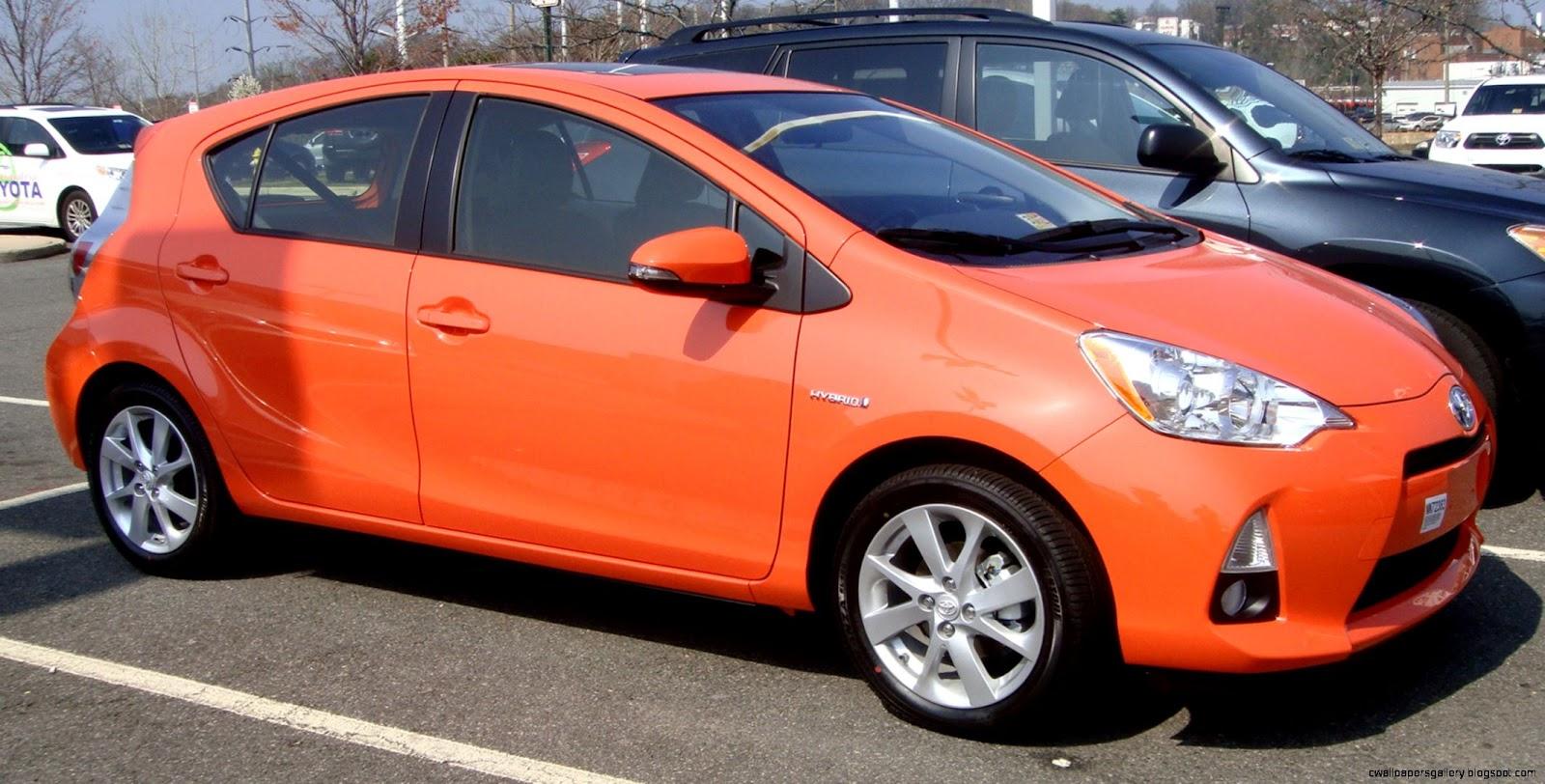Toyota Prius C Orange