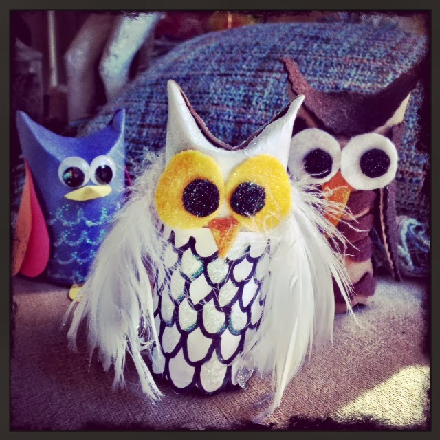 Facci designs paper tube owls how to for Toilet paper tube owls