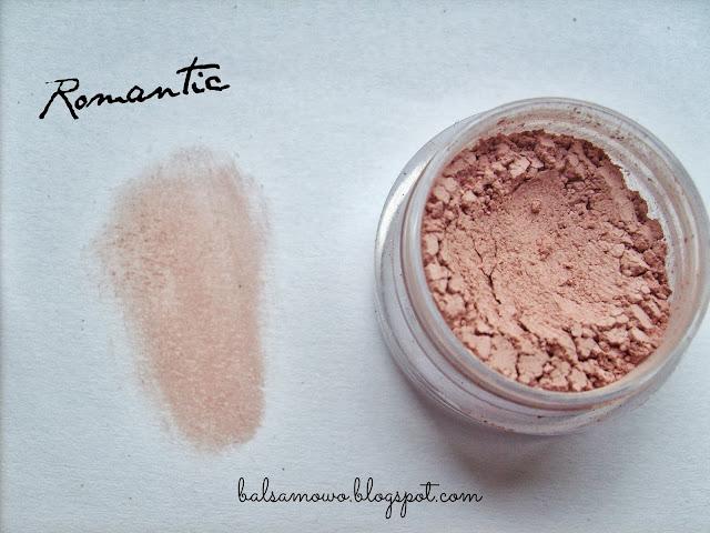 Annabelle Mineral róż kolor Romantic