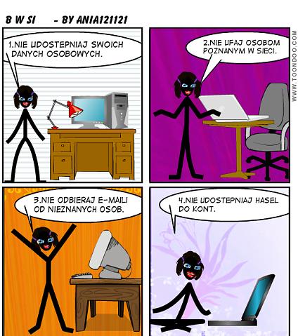 Bezpiecznie W Sieci Komiksy