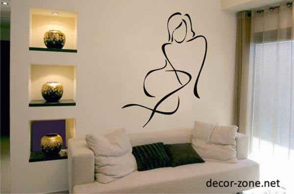 Master Bedroom Wall Decor Captivating Of vinyl wall stickers for master bedroom wall decor Picture