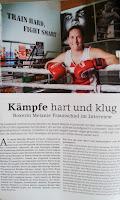 Kochen ohne Knochen - Interview mit Boxerin Melanie Fraunschiel