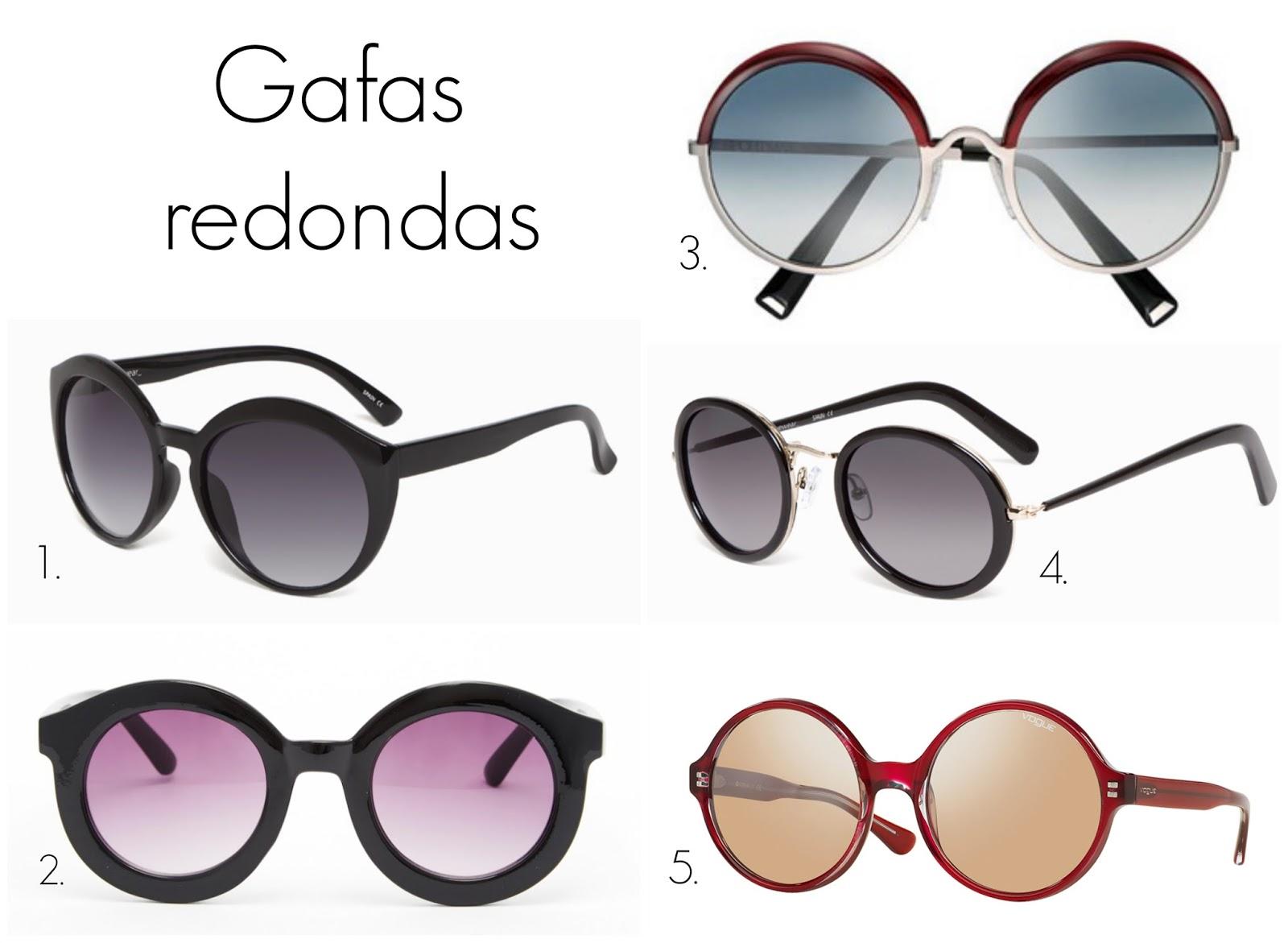 TENDENCIA GAFAS DE SOL REDONDAS Y CAT-EYE - Esencia Trendy