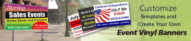 Event Vinyl Banners