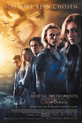 Mortal Instruments City of Bones large movie poster malaysia