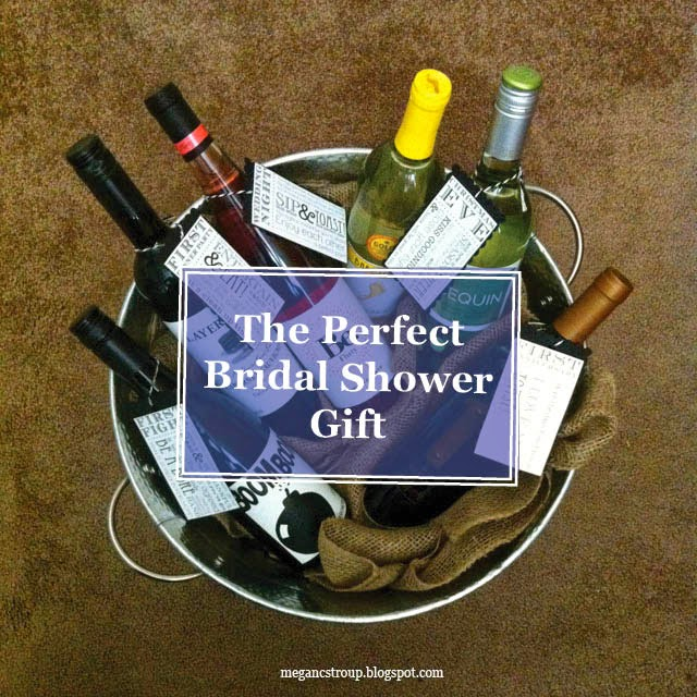 semi charmed kind of life the perfect bridal shower gift a creative wine basket