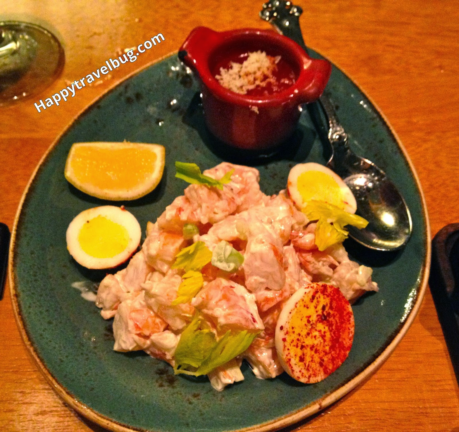 Shrimp salad from Gordon Ramsay's Pub and Grill