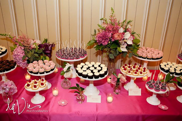 Dessert Table for Minnesota Wedding