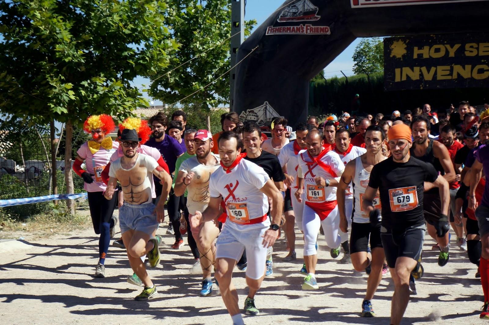 Eternal Running de Cazorla. Nueva carrera de obstáculos y visita al pueblo
