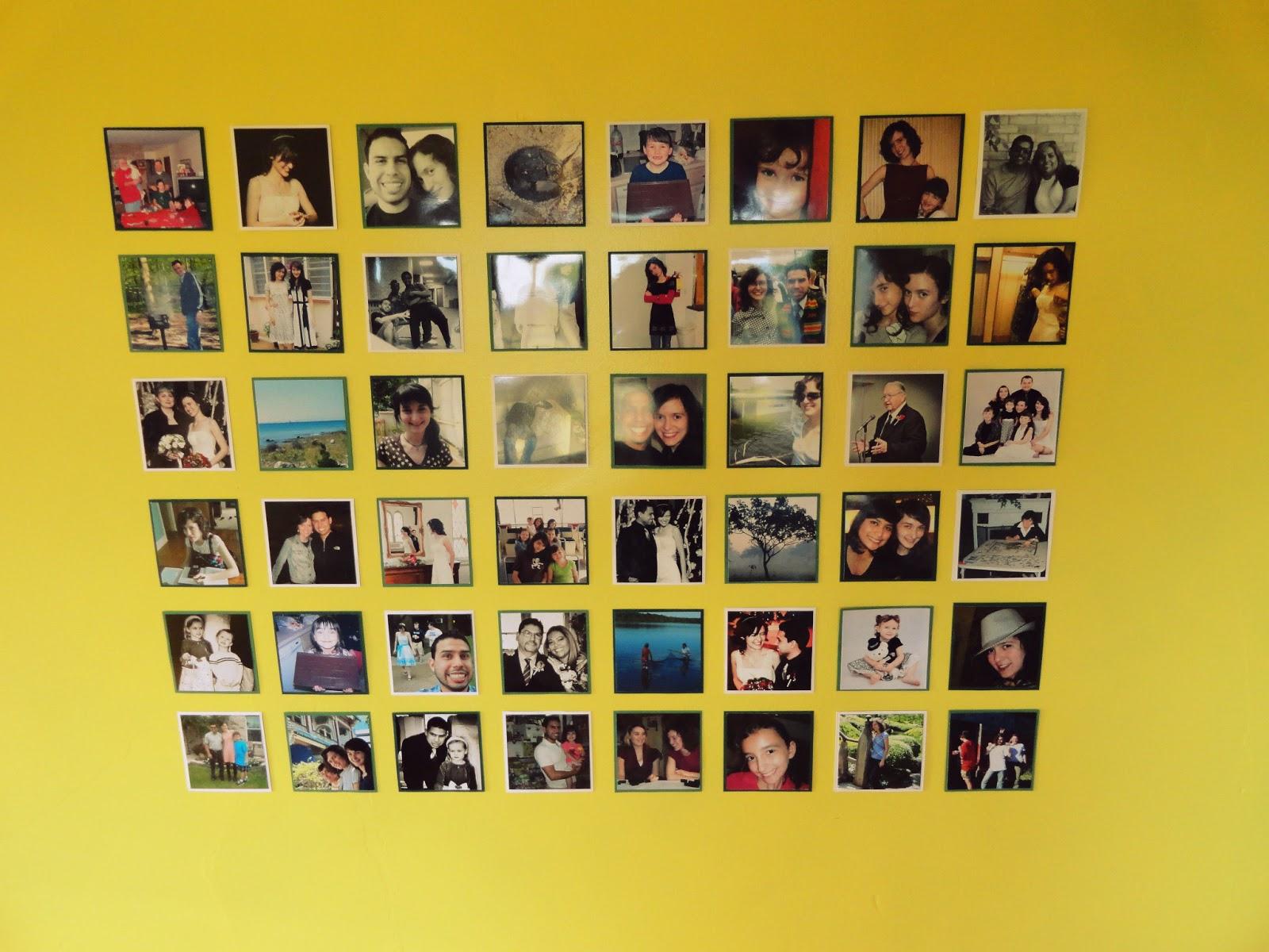 The Random Writings of Rachel: A Cheap Gallery Wall