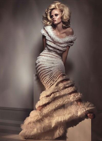 Kate Moss, Lara Stone & Natalia Vodianova for W Magazine