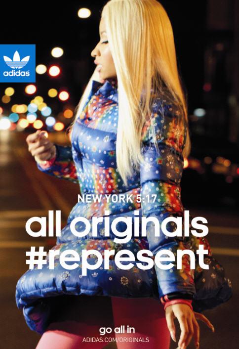 Nicki Minaj In Jeremy Scott X Adidas Originals Ad Campaign