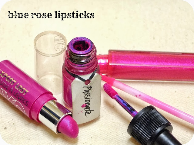 The best blue rose pink fuschia lipgloss lipstick and lipstain on the UK beauty high street