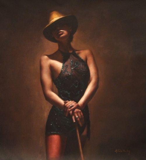 Hamish Blakely pinturas estilo clássico corpos realistas dançando sensuais
