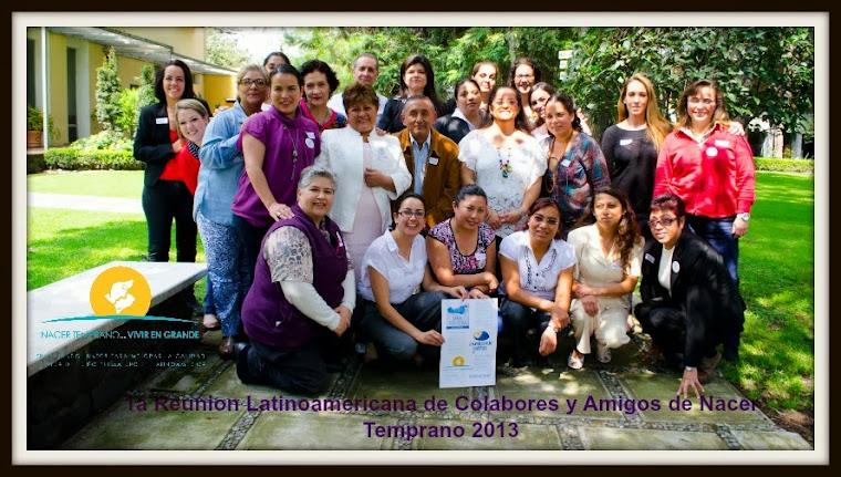 1a reunion latinoamericana Nacer Temprano