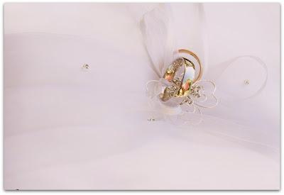 Свадебное фото: свадебное кольцо на выдане