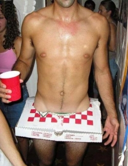 Naughty Pizza Delivery Boy Costume