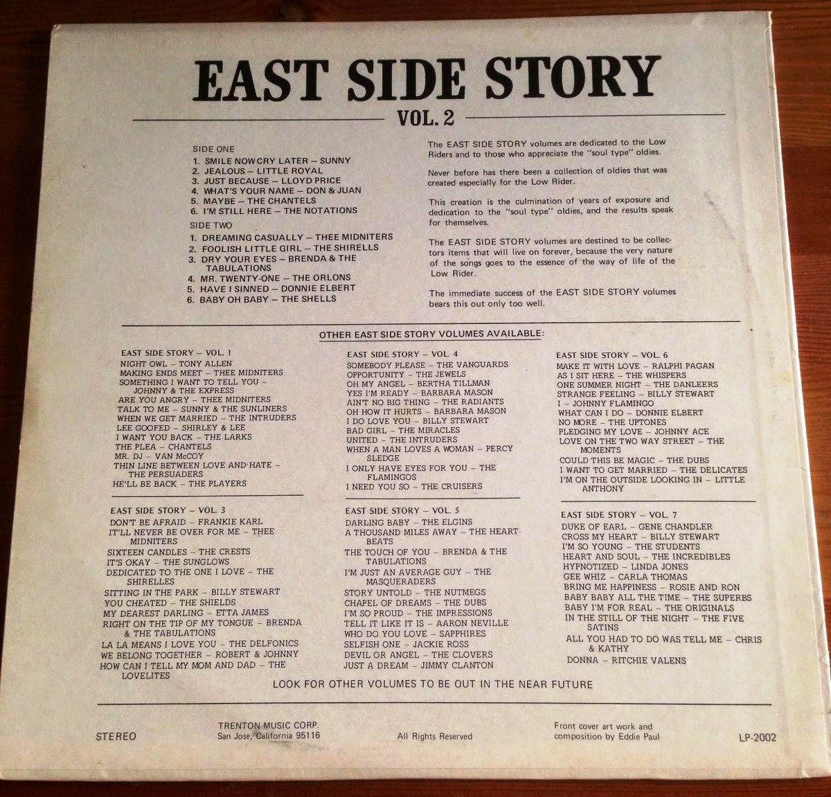 east side story vol 1-12