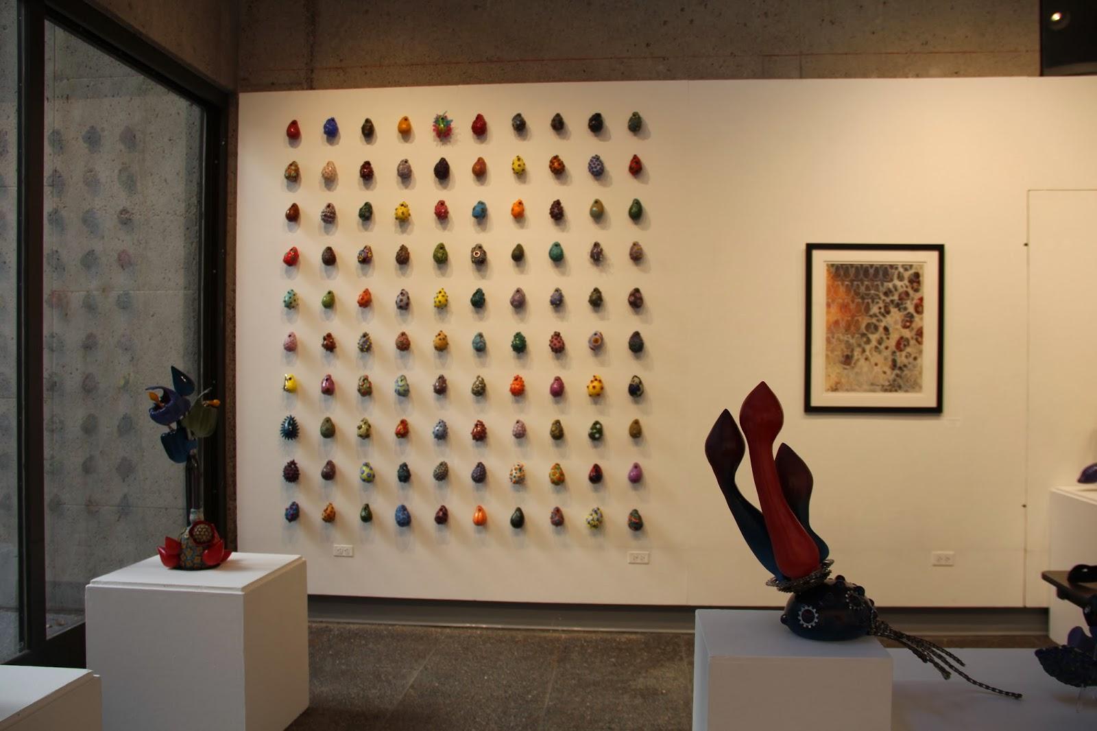 Rachel Dorn Ceramic Sculpture: Ericano Bulb Installation