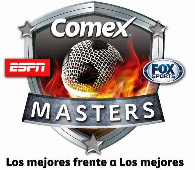 Logo oficial de Comex Masters 2014. ESPN y Fox Sports juntos por primera vez en la historia | Ximinia