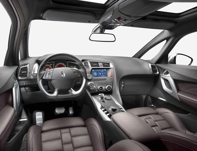 Citroen DS 5LS 2014 interior