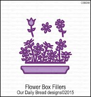 ODBD Custom Flower Box Fillers Dies