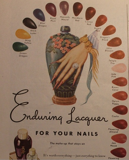 Jen But Never Jenn Vintage Nail Ads Again Prove That Nothing We Do Is Original
