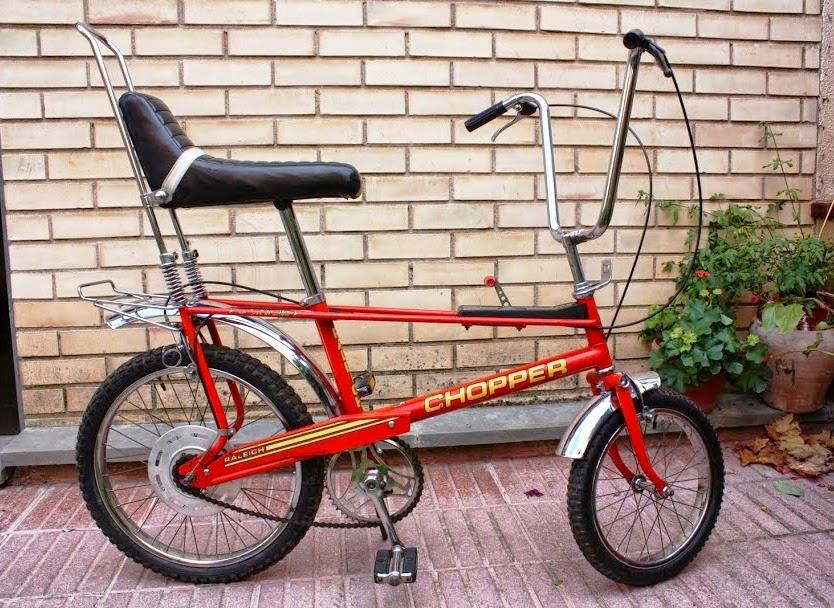 bicinova2: - Bicicool·laboració: Raleigh Chopper, la Panther inglesa