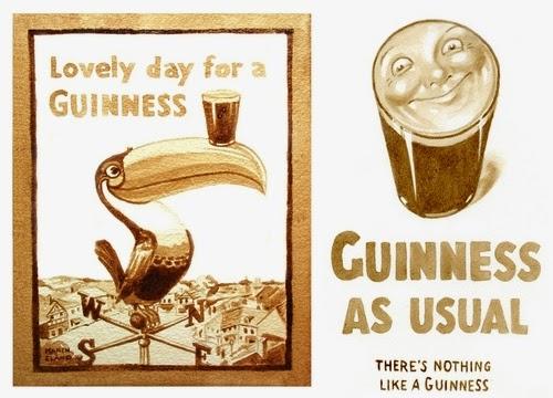 00-Karen Eland-Vintage-Looking-Beer-and-Water-Paintings-www-designstack-co