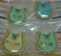 Fancy cookies aqiqah cukur jambul baby bip personalized name