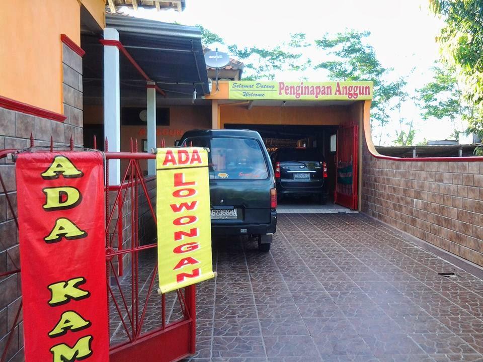 Penginapan Anggun Kaliurang Jogja Terletak Di Jln Km 19 Pakem Sebagai Tempat Pengianan Yang Murahasri Dan Bersih Wisata Propinsi