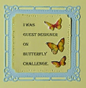Butterfly Challenge Guest Designer