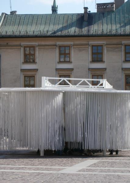 Instalacja artystyczna Mały Rynek Kraków