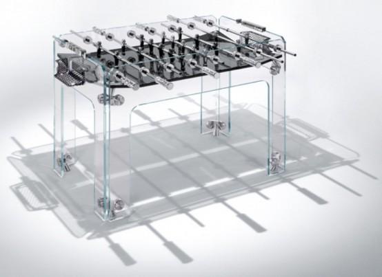 Arredamenti moderni calcio balilla di design per la casa - Calcio balilla design ...