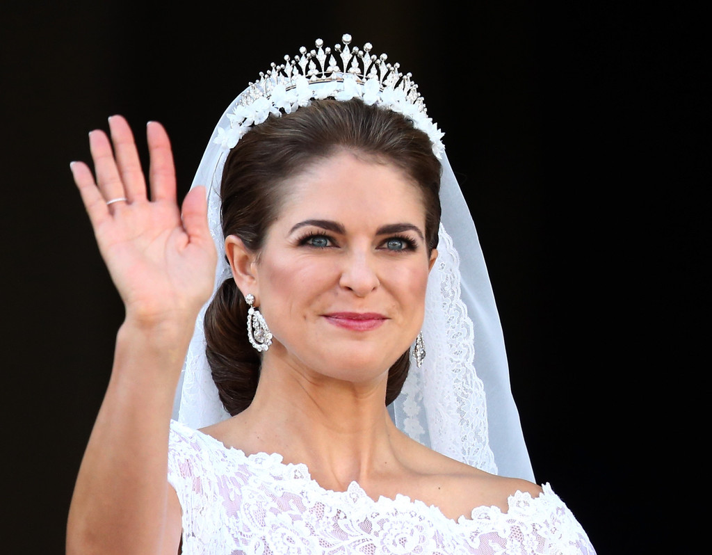 Princess Madeleine of Sweden Marries American banker Chris O'Neill