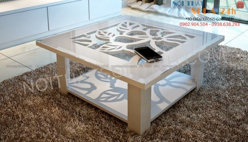 Bàn sofa gỗ BS073