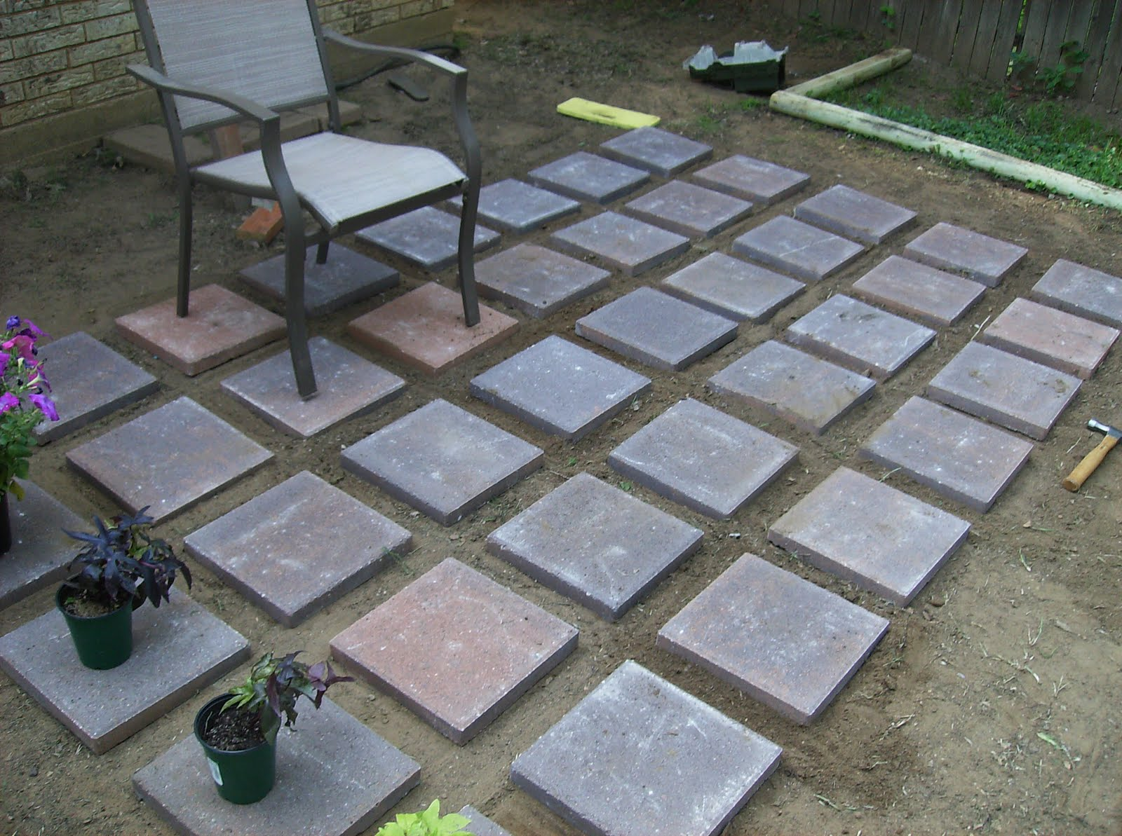 Staining Concrete Patio Pavers - Alessta Home
