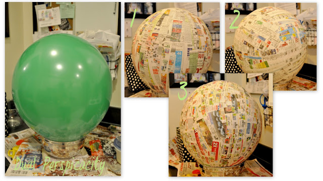 Dual perspicacity truffula tree tutorial for Best way to paper mache a balloon