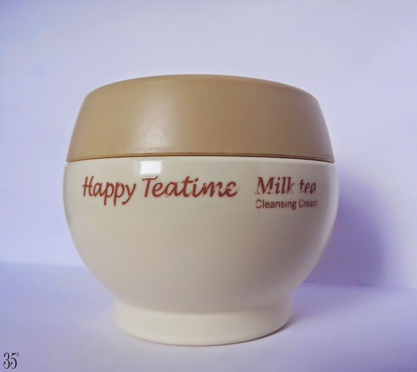 Etude House Happy Teatime Milk Tea Cleansing Cream